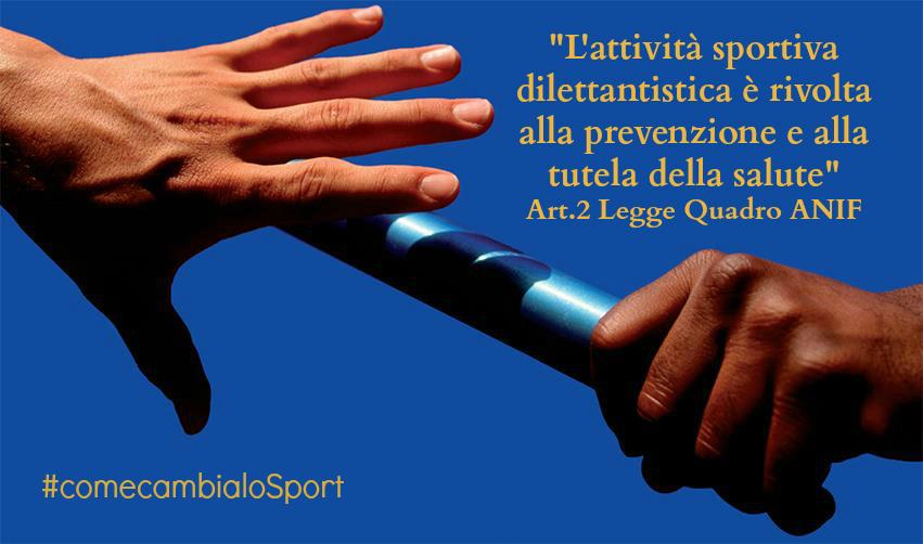 legge quadro sport dilettantistico